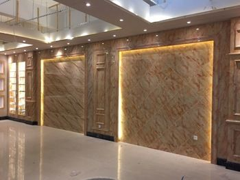 New material pvc marble used for wall decoration