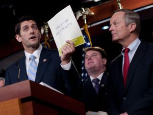 """Paul Ryan and Todd Akin are trying to redefine rape by saying """"real"""" rapes don't result in pregnancy."""