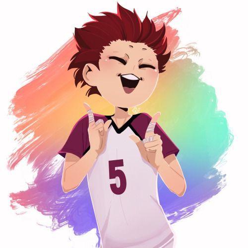 Tendou Satori is seriously one ofy favorite characters! I love how he doesn't quite fit in. ❤ / haikyuu HQ / Shiratorizawa / karasuno / Ushikawa