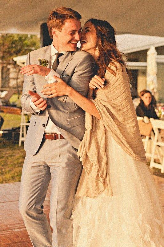 comment porter etole mariage - Etole Beige Mariage