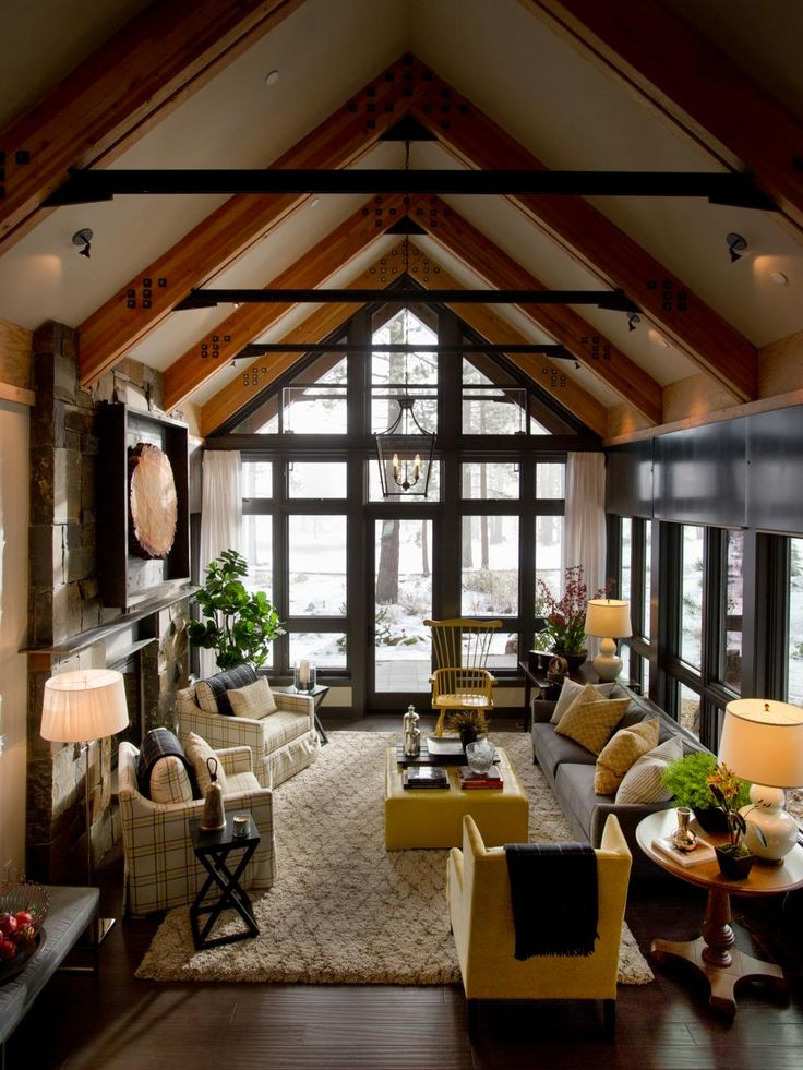 Best 20 Vaulted Ceiling Decor Ideas On Pinterest Coffee Bar Built In Interior Brick Walls