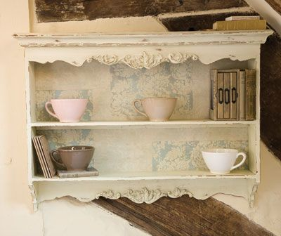 I have something similar in my kitchen.  Pottery Barn. I love the distressed look!