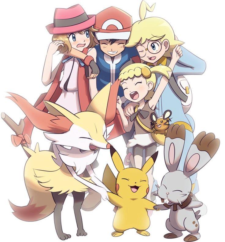 Pokemon Kalos Family