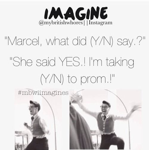 bahha idk why im laughing but i am. harry is like a little kid all happy and jumpy and i just can't anymore with this Marcel imagines..