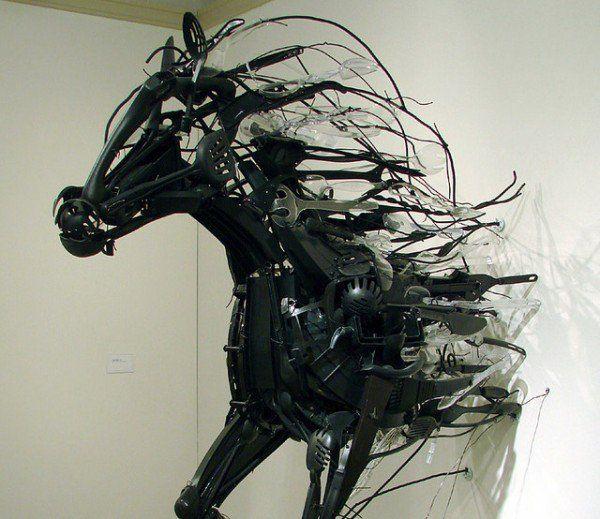 Recycled Plastics Sculptures by Sayaka Ganz Recycled Art Recycled Plastic