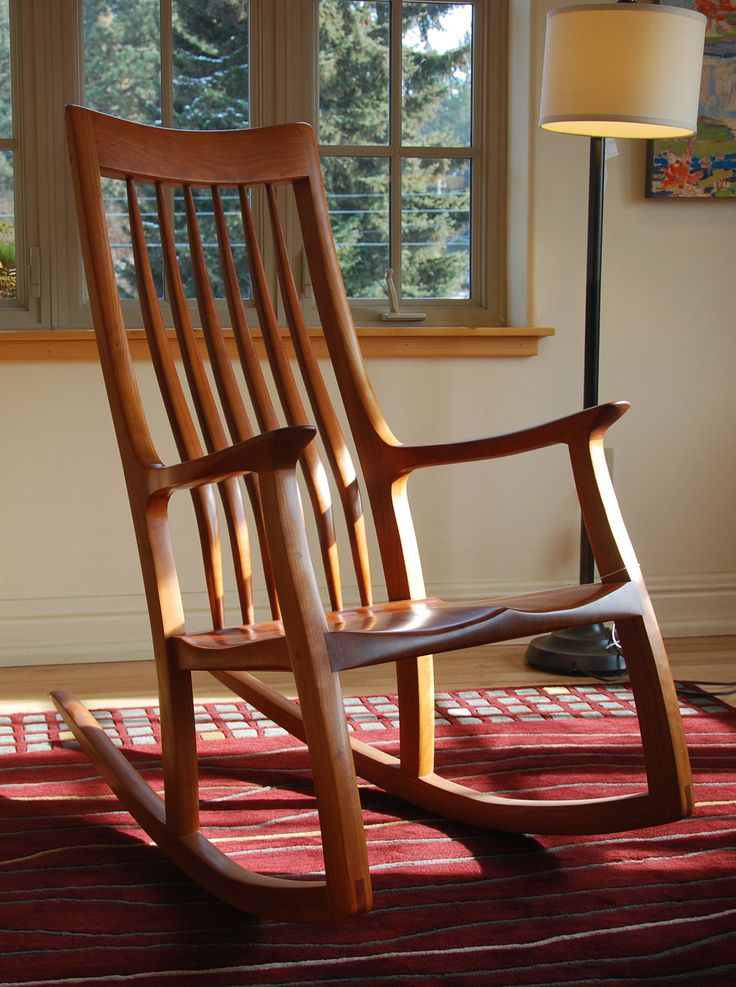 Nice Mid Century Rocking Style ,Glider Comfy And Comfortable Design ,country Rocking  Chair ,cracker