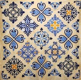 Gorgeous!!!!  William Morris in Quilting: Quilt Gallery