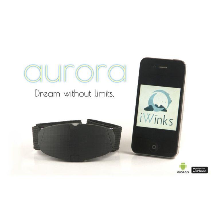 Aurora 夢を強化するヘッドバンド Auroraは、パーソナライズされたライトと音を再生し、「明晰夢」をコントロールするのに役立つスマートヘッドバンドです。  夢を見ている状態では、色んなことが可能です: 空間の大きさを変える!火を吐くドラゴンと戦う!大統領になる!すべてが自分の快適で安全なベッドの中で体験できます。Auroraは、REMの間に特殊なライトと音を再生し、眠ったまま夢を見てることを自覚させ、自分の夢をコントロールすることに役立つヘッドバンドです!…