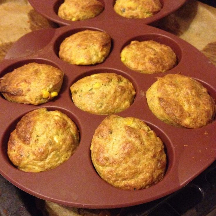 Lunchbox tuna muffins