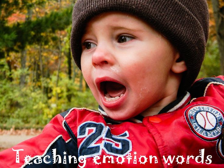 Tips for teaching emotion vocabulary to children.