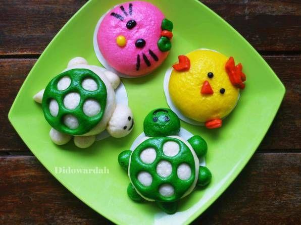 Resep Kue Nobi Cara Membuat Bakpao Karakter Youtube Kue Resep Kue