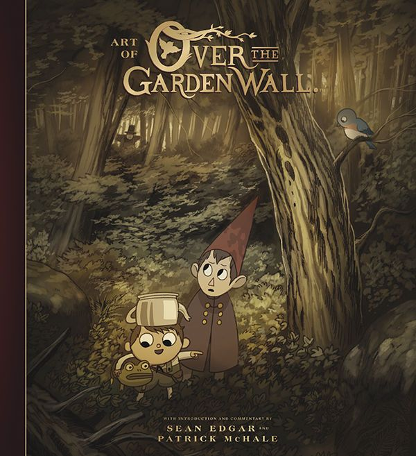 Venture into the Unknown! A complete tour through the development and production of the hit animated miniseries Over the Garden Wall, this volume contains hundreds of pieces of concept art and sketches, and a comprehensive look at the show's breathtaking production art. Also includes commentary from creators Patrick McHale and Nick Cross, interviews with the cast and crew, and more! #art #book