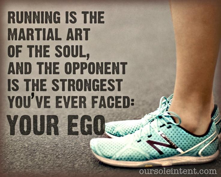outrun your ego