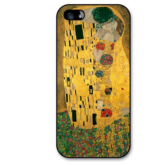 iPhone 5 Case The Kiss Painting by Gustav Klimt iPhone 5S