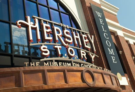 The Hershey Story is a great museum about the history of Milton Hershey's life. He developed the Hershey Bar almost a century ago.