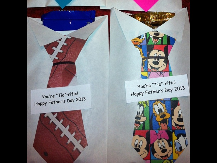 """I made these """"shirts & ties"""" for my Sunday School kids to give their dads for Fathers Day. The shirts are made from plain envelopes. The kids will get to pick a candy bar to go inside."""