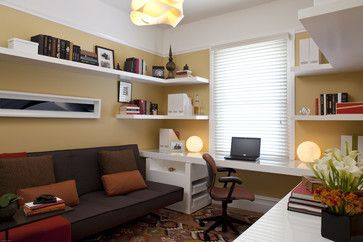 Bernal Heights Home Office - modern - home office - san francisco - Jennifer Gustafson Interior Design