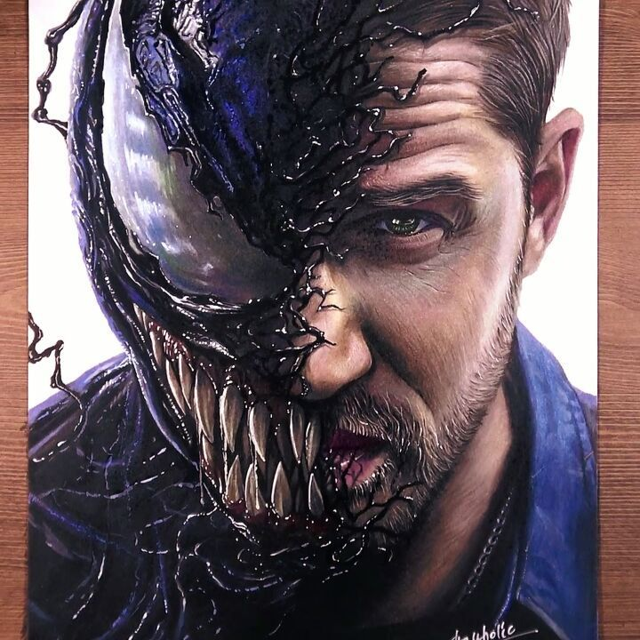 Drawing Venom(Eddie Br...