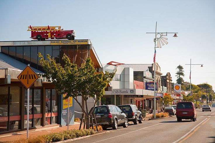 The town with the National Toy Museum - Inglewood  New Zealand