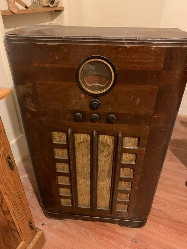 Details about ANTIQUE PHILCO RADIO 1938: model 38-9