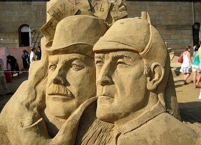 International Sand Sculpture Festival | International Festival of Sand Sculpture, St. Petersburg | aunalokaya