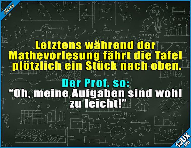 Prof. mit Humor ^^