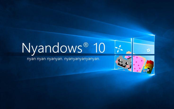 nyan cat Windows 10 Wallpaper [1920x1200]
