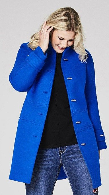 Best 25  Plus size coats ideas on Pinterest | Real women curves ...