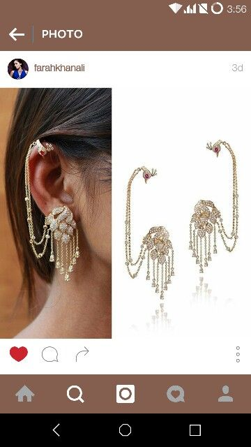 #farahkhanCollection #tanishq #earrings