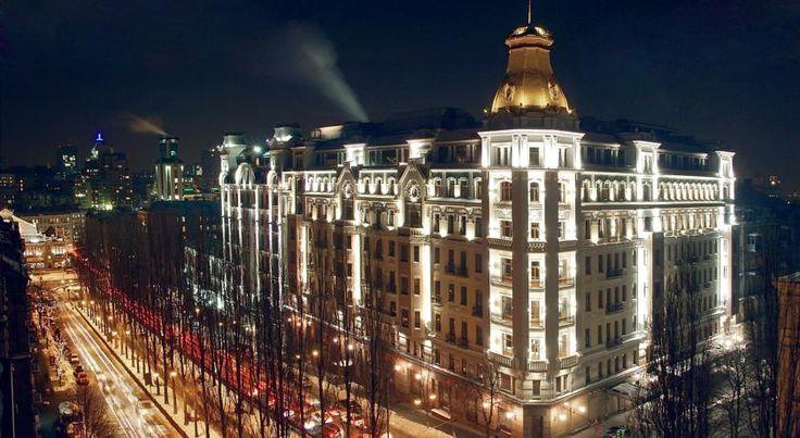 泊ってみたいホテル・HOTEL ウクライナ>キエフ>豪華な内装の客室、ガラス屋根のエレガントなスイミングプールを提供する5つ星ホテル>プレミア パレス ホテル(Premier Palace Hotel)