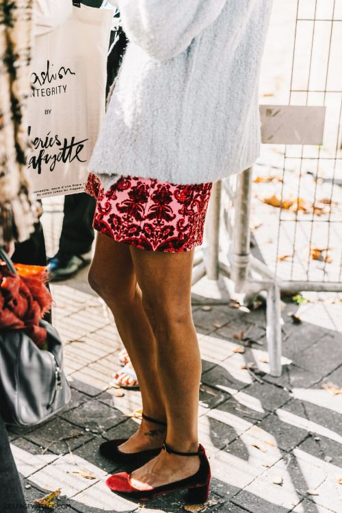 15x20: vogueably: streetstyle more like this ♡