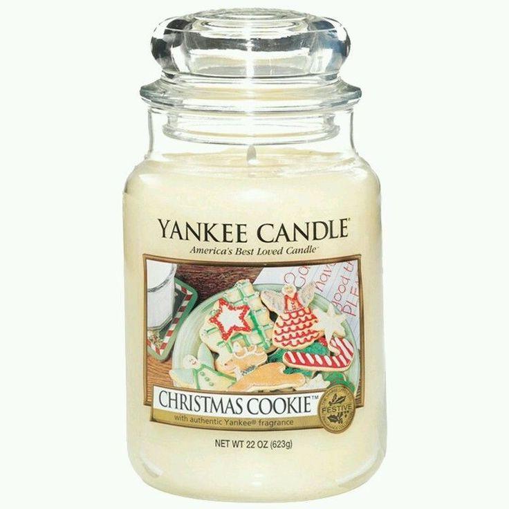 Yankee Candle Christmas Cookie Large Jar