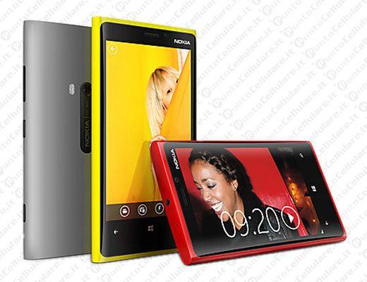 Nokia conferma il lancio di Lumia 920 e Lumia 820 in Italia a meta' novembre