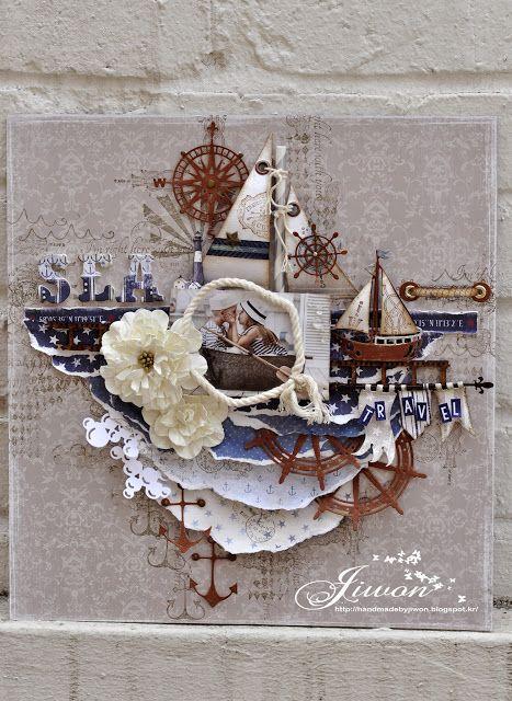 Jiwon Crafts Blog: Summer sea