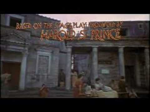 Something Happened on the Way to the Forum, starring the very talented Zero Mostel, opening credits,Comedy Tonight