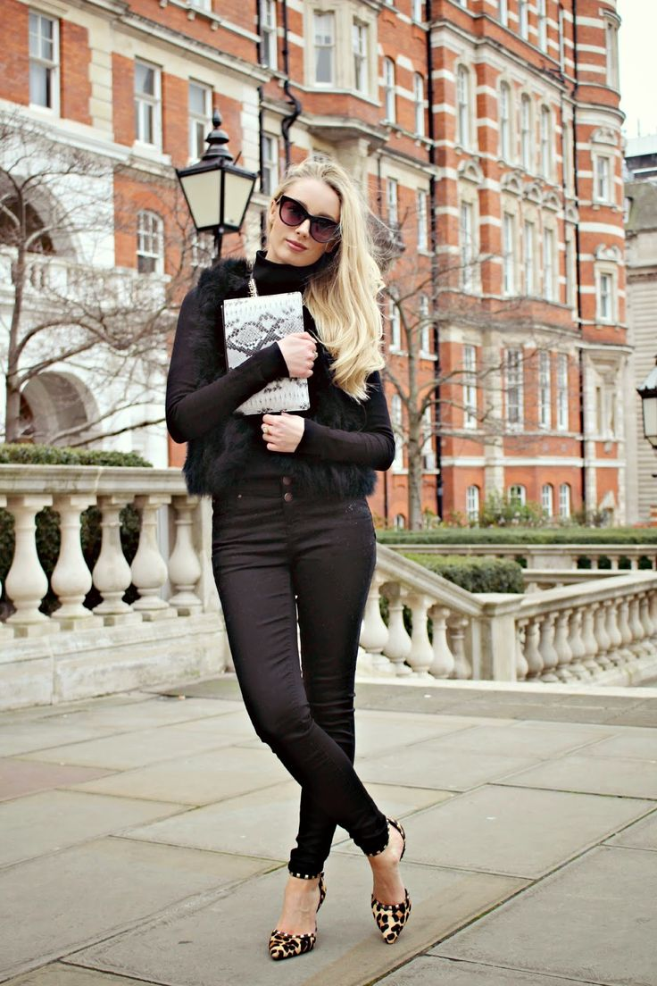 3 Ways to Wear // Black Skinny Jeans # 2