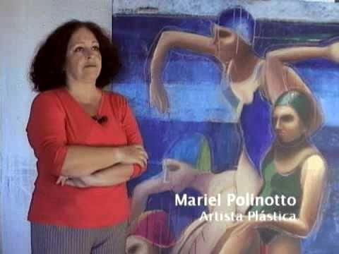 Blue Contemporary Artist: Mariel Polinotto - Su obra - Corto www.bluecontemporary.com  #abstract #studioArt #interview #art #contemporary #swimmers