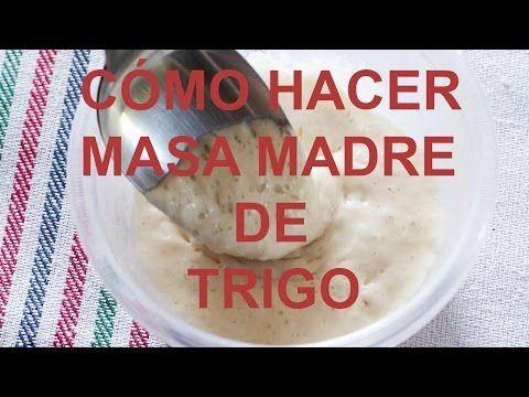 Biga - Prefermento para el Pan - Masa Madre con Levadura - YouTube