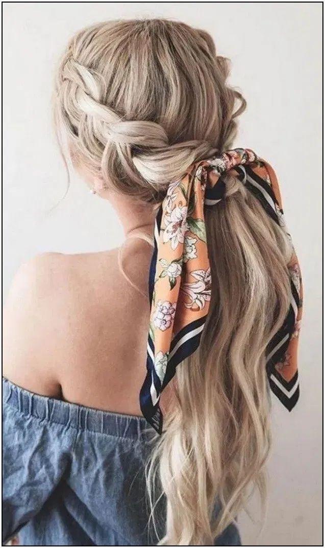129 Best Hair Styles Images In 2020 En 2020 Peinados Con Coleta Peinados Panuelos Para Cabello