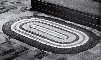 Crocheted Oval Rug Pattern: Crafts Quilts Crochet, Rugs Patterns Lilies, Color, Crochet Chart, Book, Crochet Rugs, Vintage Crochet Patterns, Crafts Rugs, Rugs Crochet
