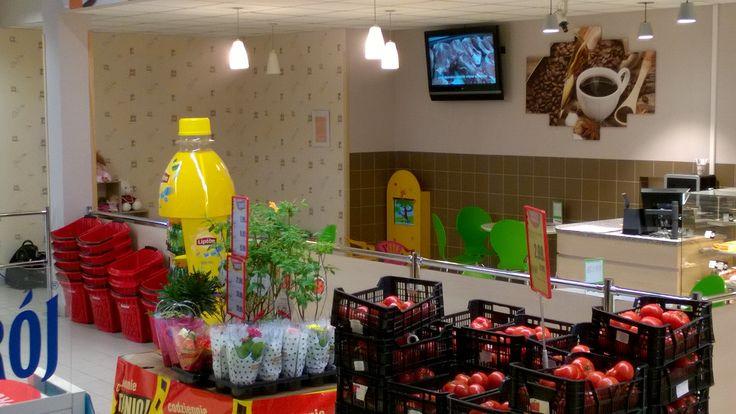 Kącik dla dzieci w supermarkecie