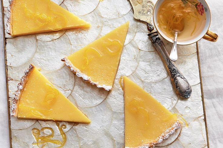 Gin and tonic tart - it's your favourite cocktail, turned into a creamy custard and encased in pastry. You're welcome.