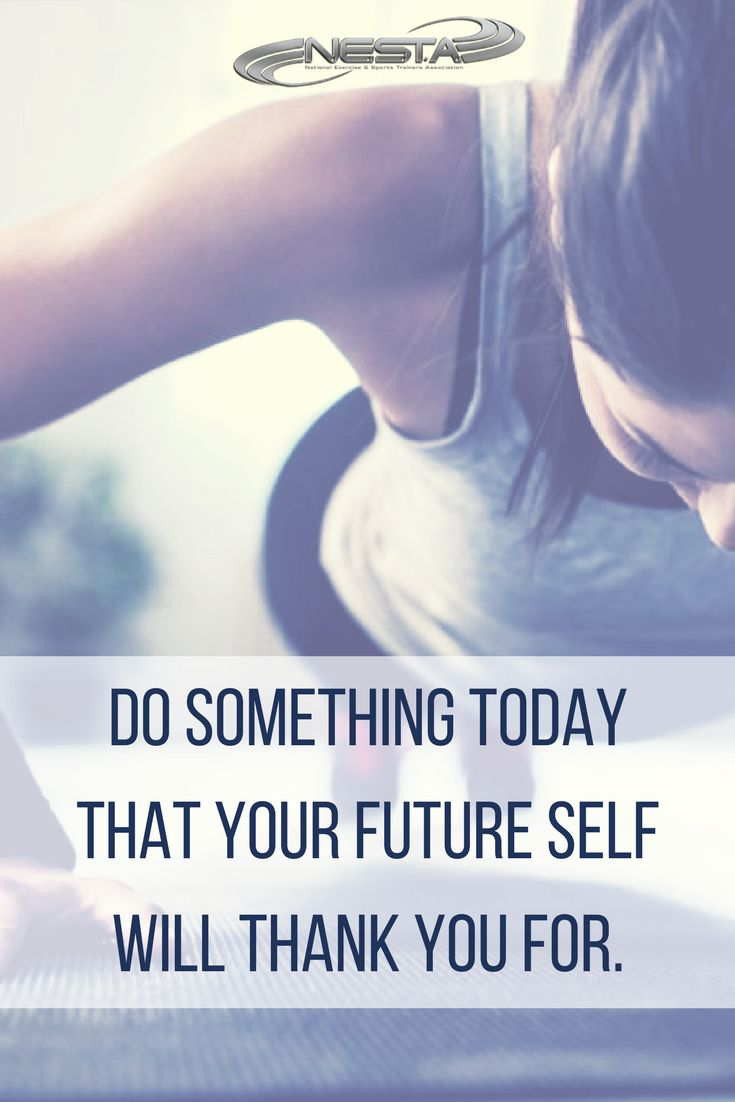 50 best health and fitness education images on pinterest nesta do something today that your future self will thank you for nesta personal fitness trainer 1betcityfo Gallery