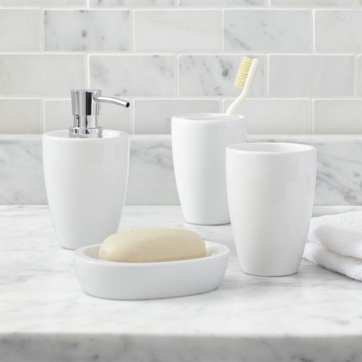 White Bathroom Accessories Ceramic best 25+ traditional bathroom accessory sets ideas on pinterest