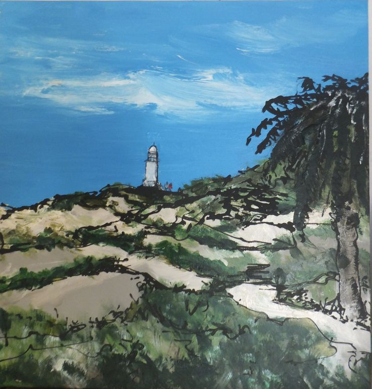 Lighthouse from Basin - Rottnest Print By Kris Keen