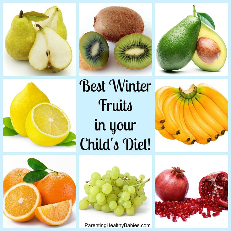 Know your winter fruits before serving to your Child - ParentingHealthyBabies.com