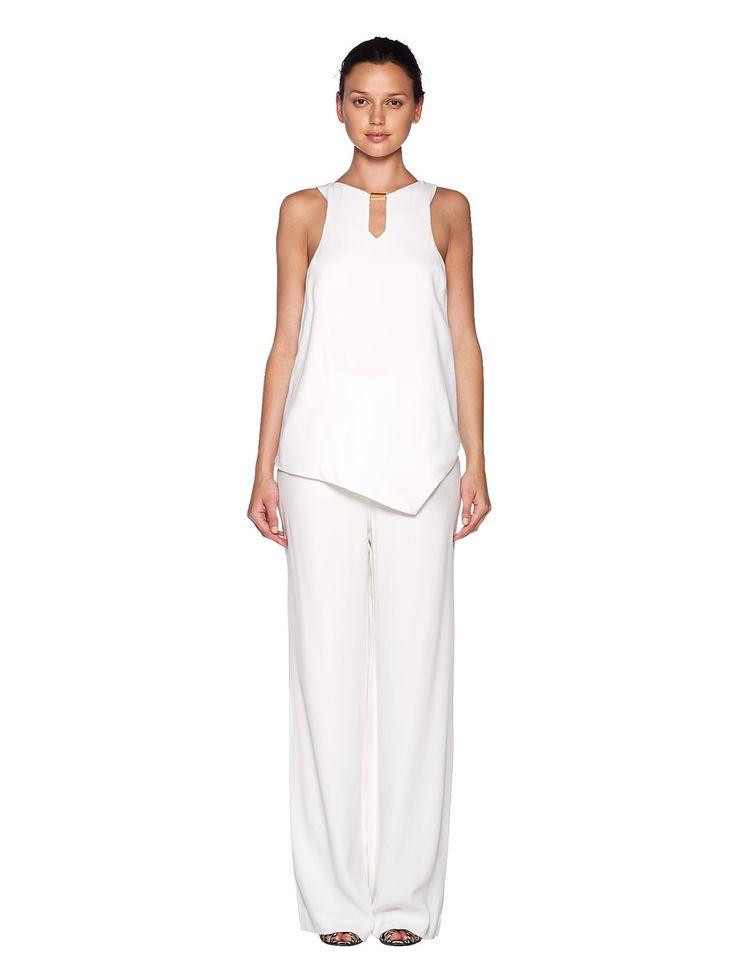 bec and bridge - Artemis Top In White