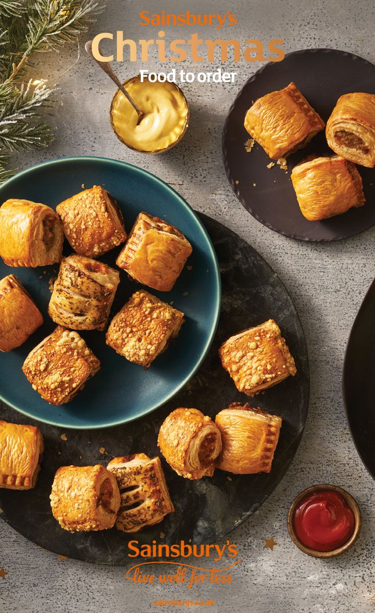 Party Food Now Available On Sainsburys Christmas Food To