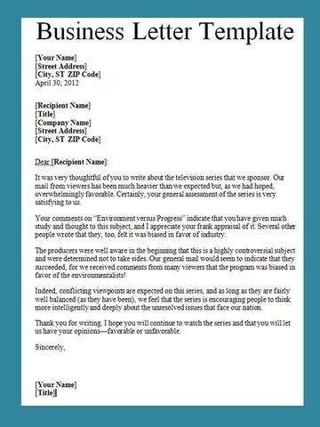 Best  Business Letter Template Ideas On   Business