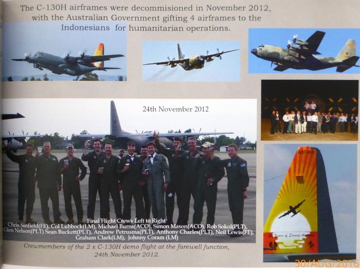 Defence Gifts - 50th Anniversary RAAF C-130 Operations Coffee Table Book (Hard Cover), $40.00 (http://www.defencegifts.com.au/50th-anniversary-raaf-c-130-operations-coffee-table-book-hard-cover/)